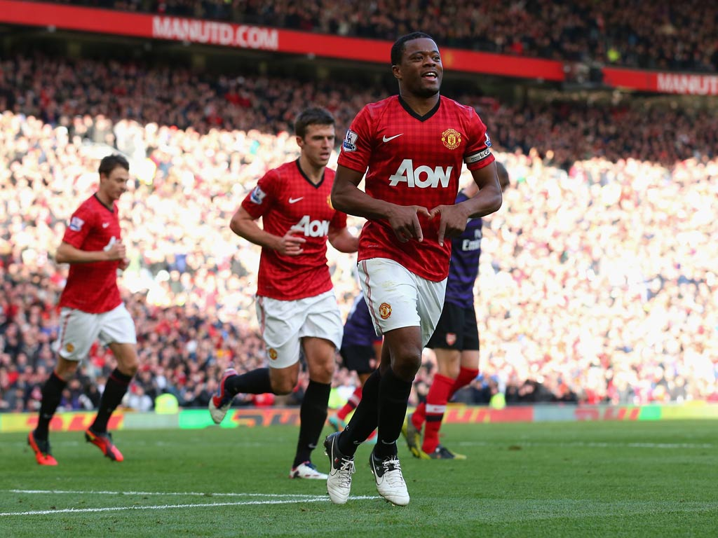 Patrice Evra warns rivals that Manchester United are back
