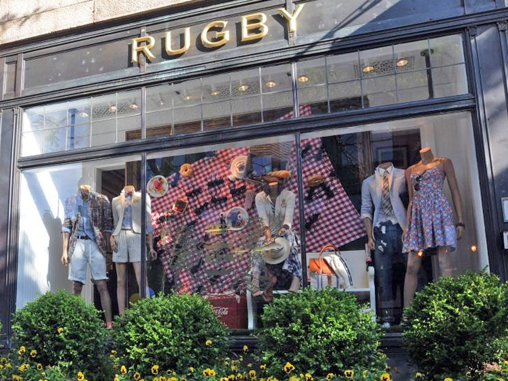 Ralph Lauren kicks its 'preppy look' Rugby label into touch | The Independentindependent_brand_ident_LOGOUntitled