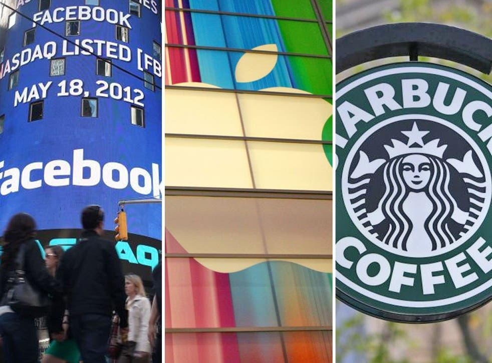 Corporations Facebook, Apple and Starbucks manage to avoid taxes