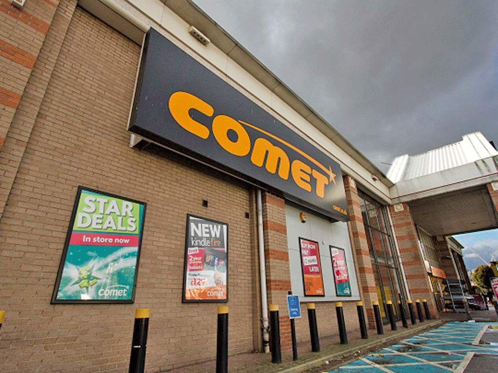 125 more Comet stores to close
