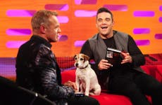 Graham Norton has Brad Pitt, Julia Roberts and 'the young royals' on his red sofa wishlist