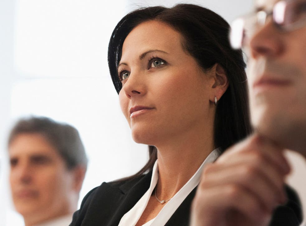 Only 40 per cent of department heads are female