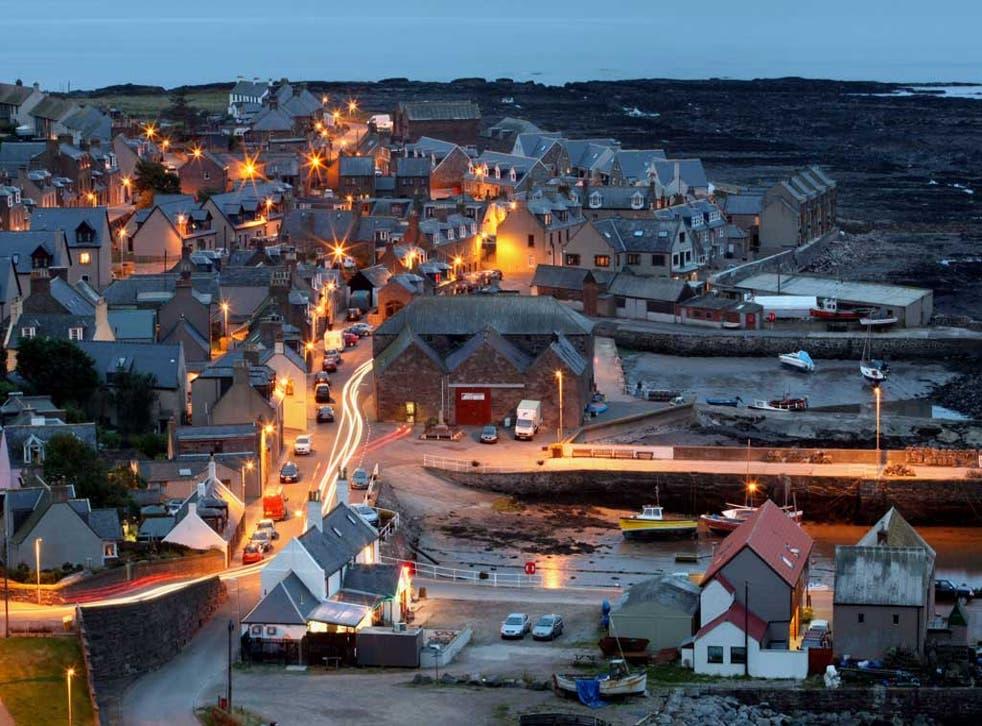 Coastal lives: the fishing village of Gourdon, Aberdeenshire