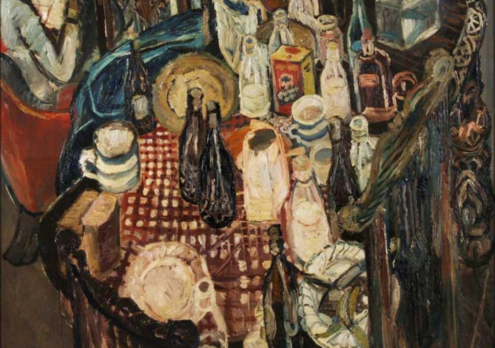 Great Works: Table Top, 1955, by John Bratby | The Independent