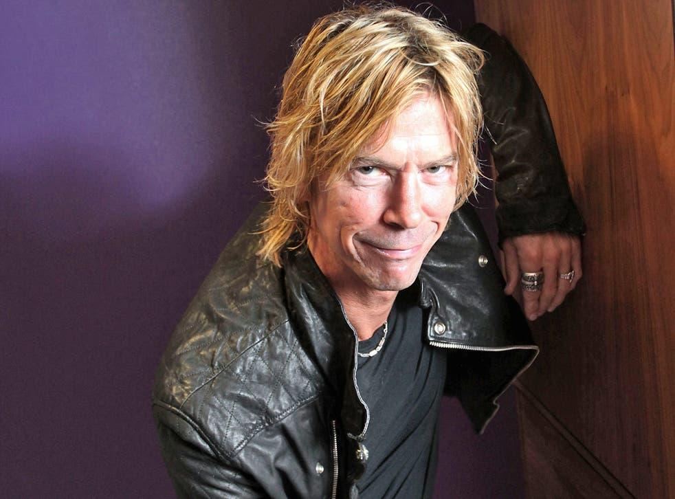Duff McKagan, former Guns N'Roses' bassist