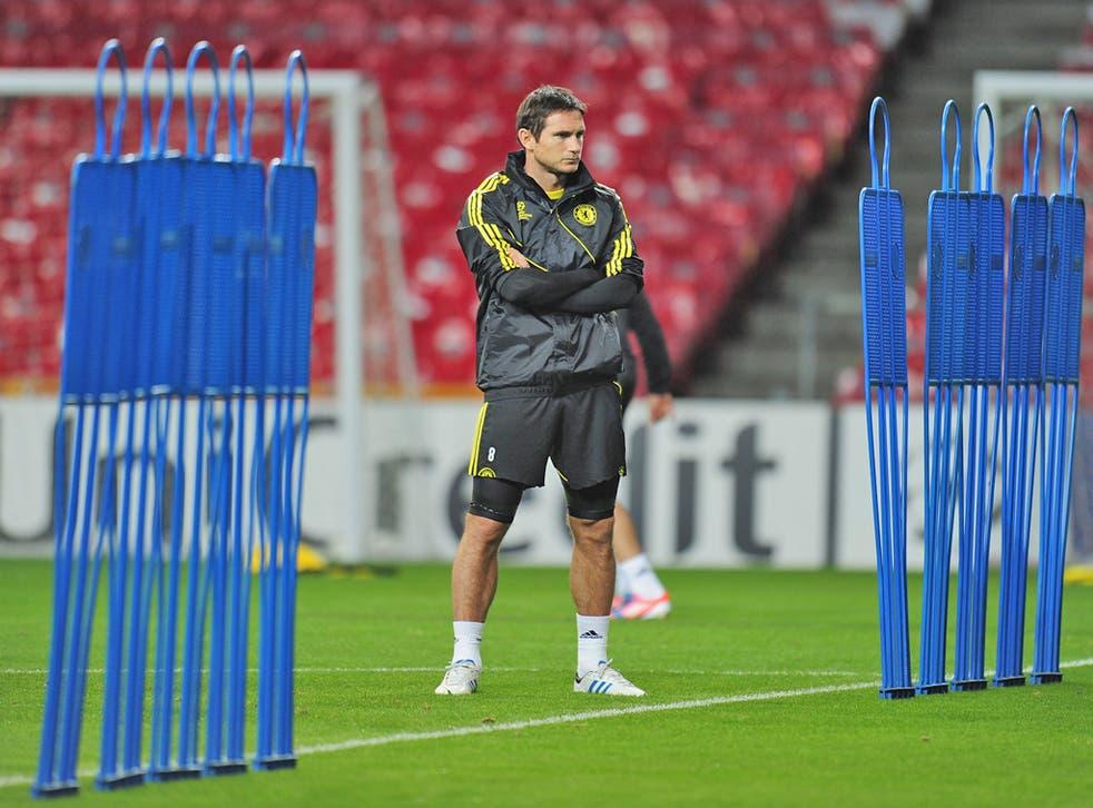 Lampard has missed the last six turbulent weeks