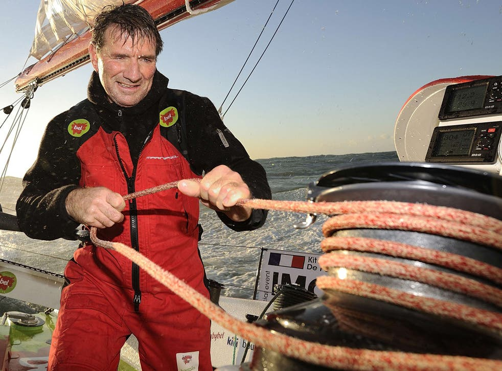 Kito de Pavant has retired from the Vendée Globe after colliding with a trawler