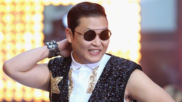 South Korean rapper Psy, famous for 'Gangnam Style'