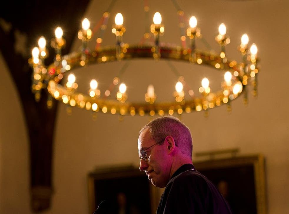 Justin Welby will deliver his Christmas sermon at Canterbury Cathedral
