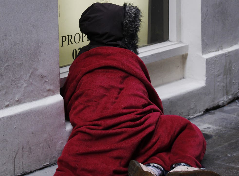 """The National Housing Federation warned that low-income families are now the """"new face of England's homeless"""""""