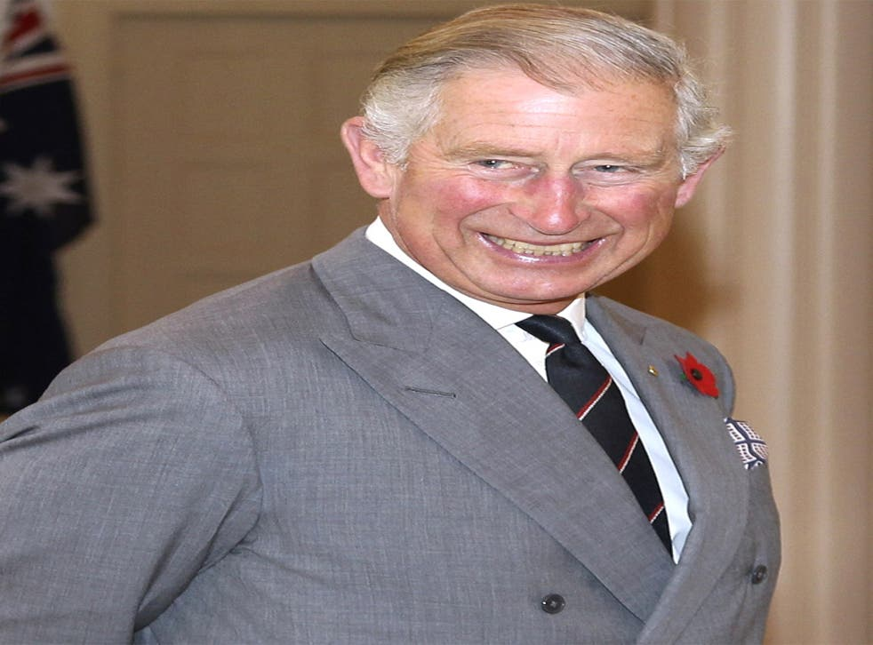How do you like your eggs in the morning?: The Prince of Wales