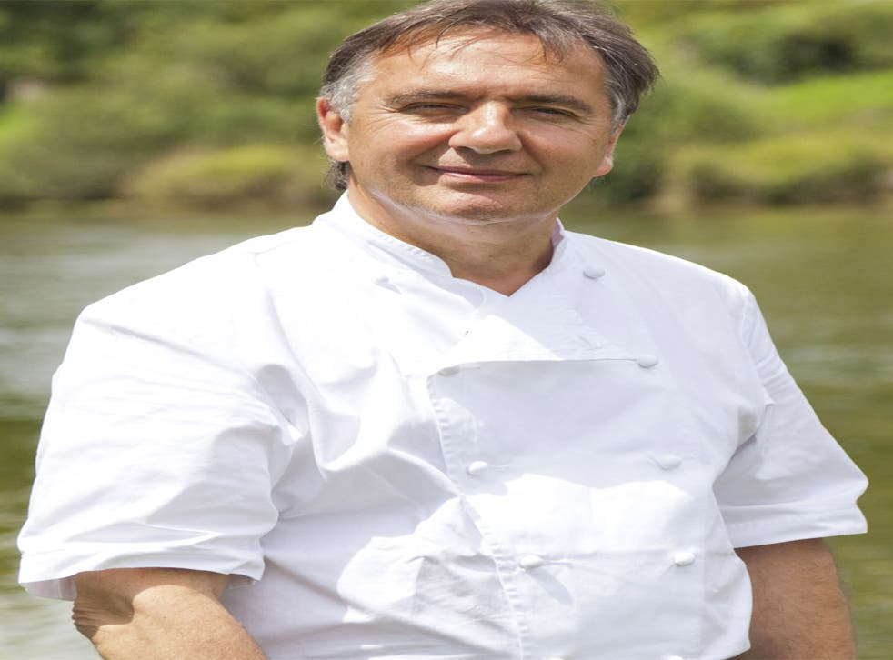 Celebrity chef and restaurateur, Raymond Blanc