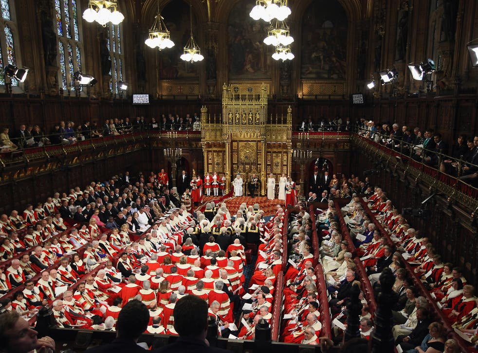 The House of Lords, where fraudulent expenses claims do not spell the end of a career