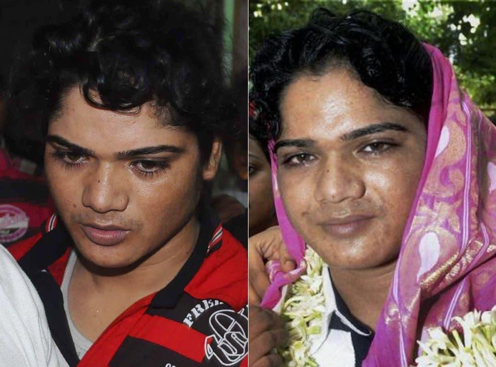 Athlete Pinki Pramanik who has been accused of rape
