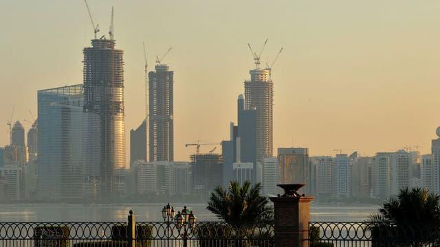 Tower play: the dramatic skyline of Abu Dhabi