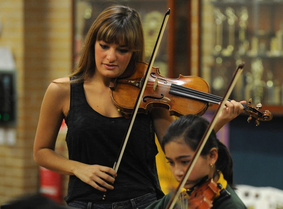 Nicola Benedetti is the youngest ever musician to close the Proms