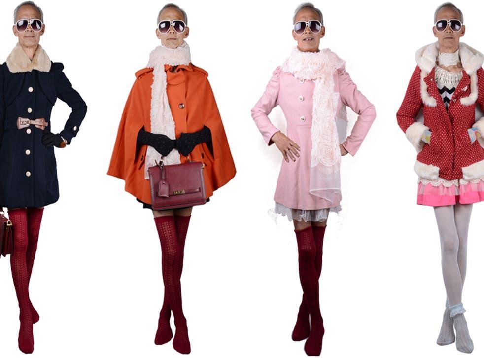Liu Xianping models for Yuekou