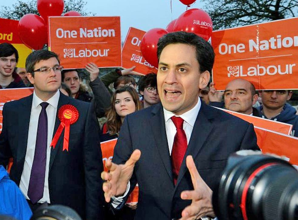 Ed Miliband: The Labour leader has said that he is a 'conviction politician'