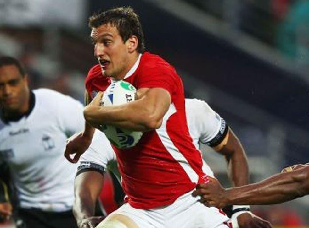 Sam Warburton said pressure was now off Wales