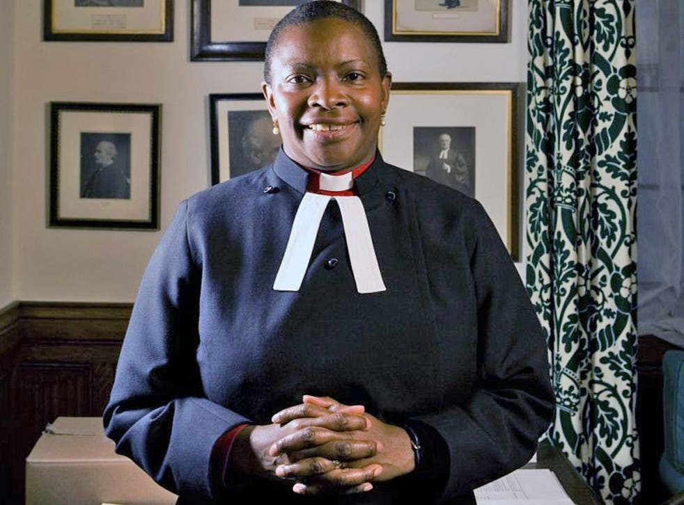 Rose Hudson-Wilkin: Born in Montego Bay, Jamaica, the 51-year-old has been widely tipped to become the first female Church of England bishop