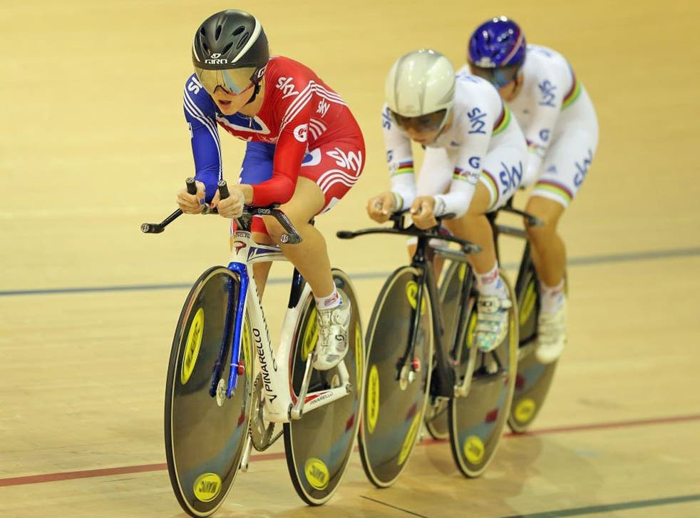 Elinor Barker led the new generation of British riders in Glasgow last weekend
