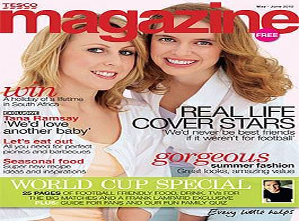 Tesco Magazine began in 2004 and is distributed in the entrances of 800 stores