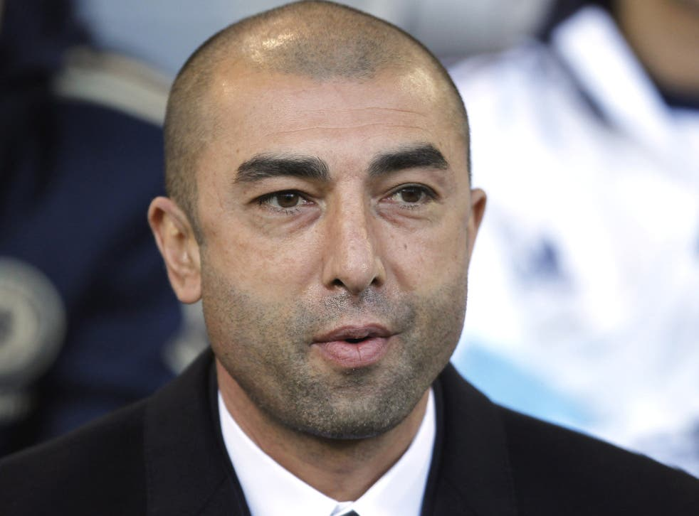 Di Matteo was reluctantly appointed as manager in spite of last season's Champions League success