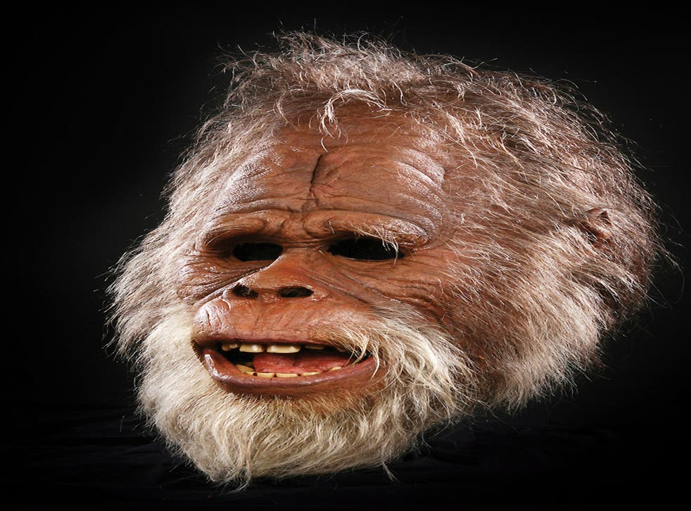 Definitely NOT seen in Tunbridge Wells: The original animatronic Harry head from the film 'Harry and the Hendersons' (Universal Studios 1987) - the tale of a family being adopted by a Yeti