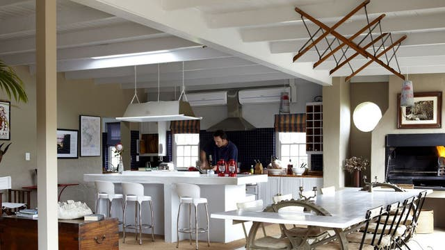 """<p><b>Explorers Club, Franschhoek</b></p>  <p>An hour's drive from Cape Town leads to the vineyards of Franschhoek. Here, adventurer and antiques collector Jo Sinfield has designed a group of stylish self-catering rentals dotted throughout the town. The main one is Explorers Club which sleeps six adults and four children in a mixture of doubles and bunks. It has vintage maps on the walls, recycled furniture and subtle African accents throughout. Three other properties; The Library, Cook's Cottage and The Map Room; are available for smaller groups.</p>  <p>Explorers Club, 18 Wilhelmina Street, Franschhoek (00 27 72 464 1240; <a href=""""http://www.explorersclub.co.za"""" target=""""_blank"""">explorersclub.co.za</a>). Nightly rental R5,900 (£415). Sleeps 10.</p>"""