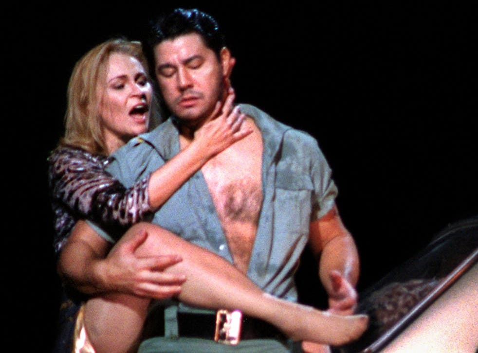 Donose and Diegel in Bieito's Carmen