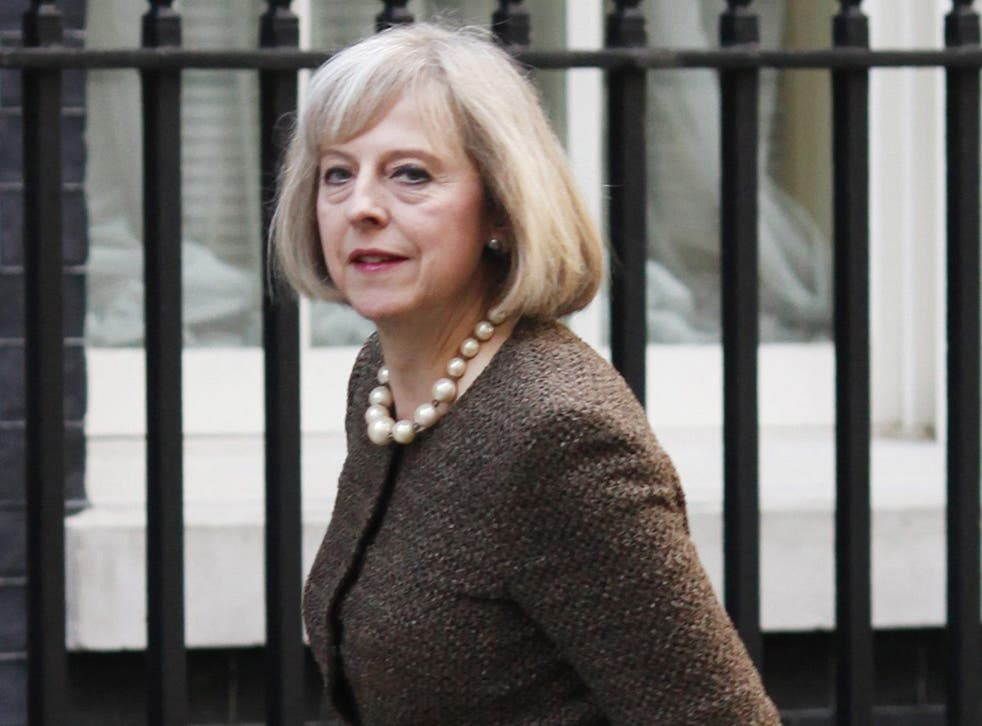 David Cameron and the Home Secretary, Theresa May (pictured), highlighted a possible 40p baseline for alcohol earlier this year when they confirmed the coalition supported minimum pricing