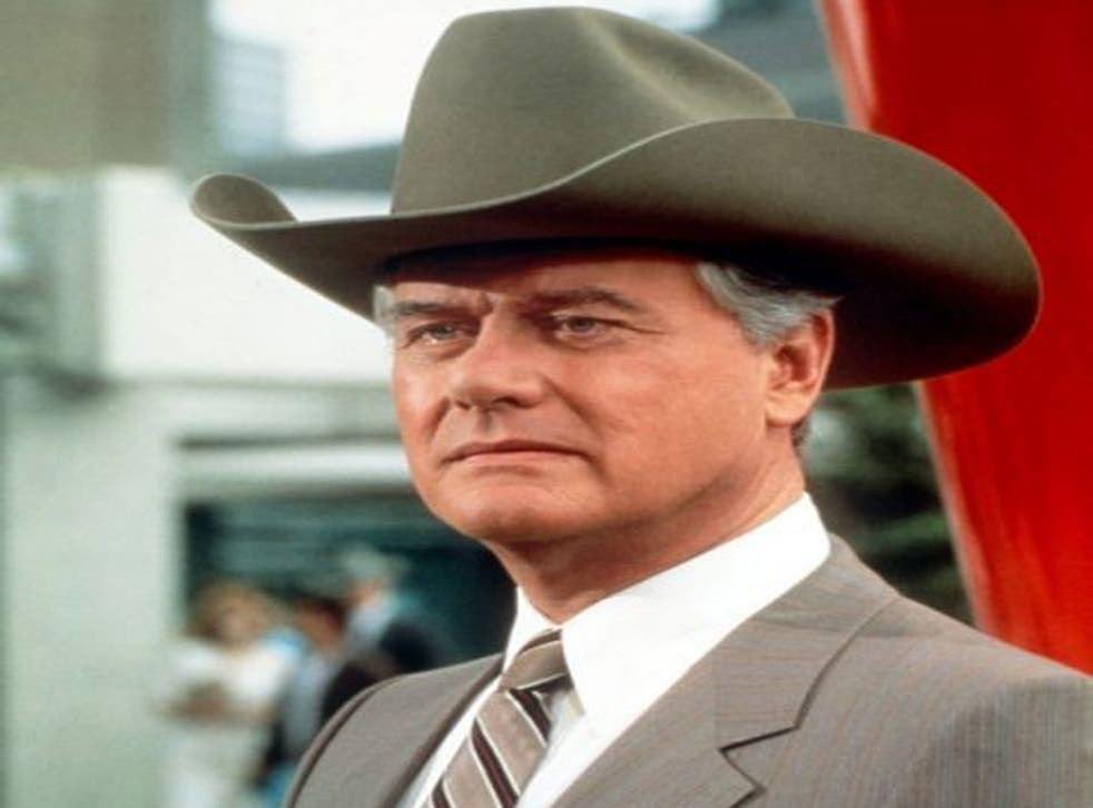Stetson and an evil streak: Hagman as JR in 'Dallas'; it eventually ran to 356 episodes over 13 years