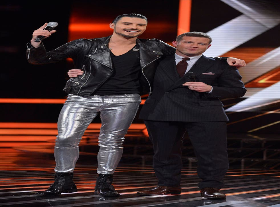 Rylan Clark was voted off the X Factor last night