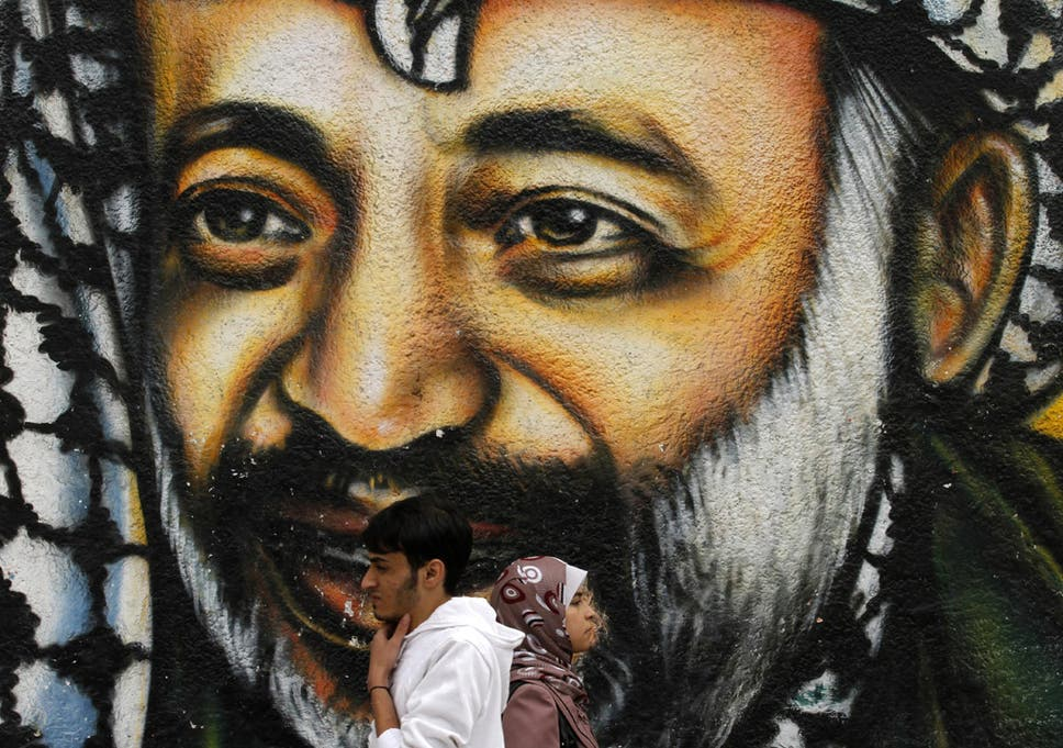 as yasser arafat is exhumed how a new ragged spirit of palestinian