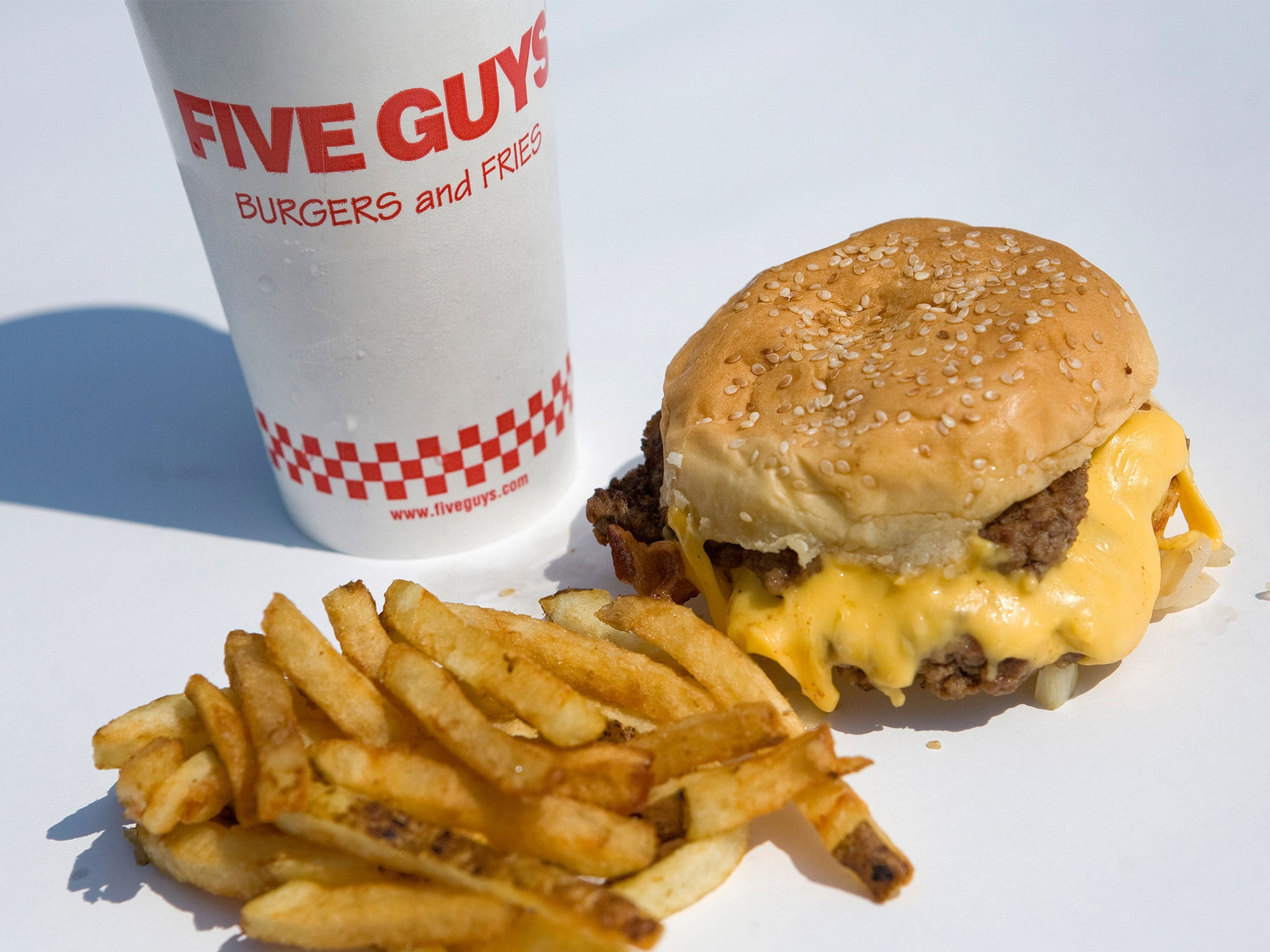 Food: Loaded buns as the burger war rages | The Independent