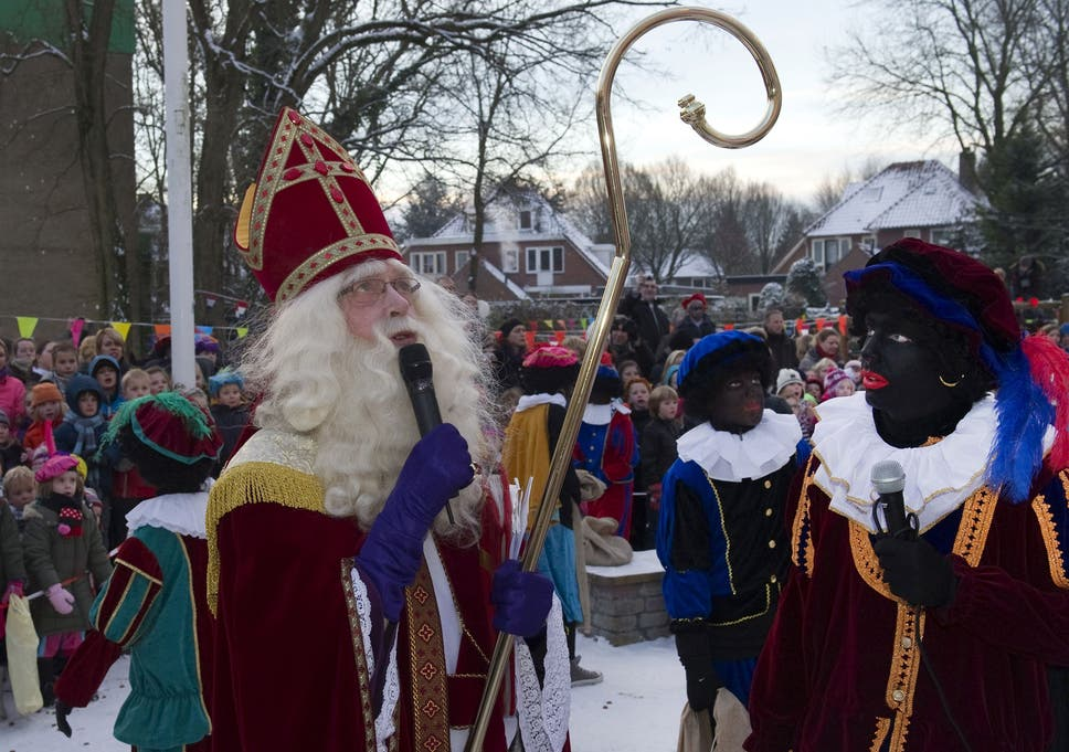 Dutch Christmas.Like The Golliwog Zwarte Piet Is A Racist Relic So Why Is