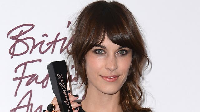 Alexa Chung won the British Style Award for her quirky and individual look, as voted for by the British public. 'Eye bags = the new It-bags,' she tweeted the following morning