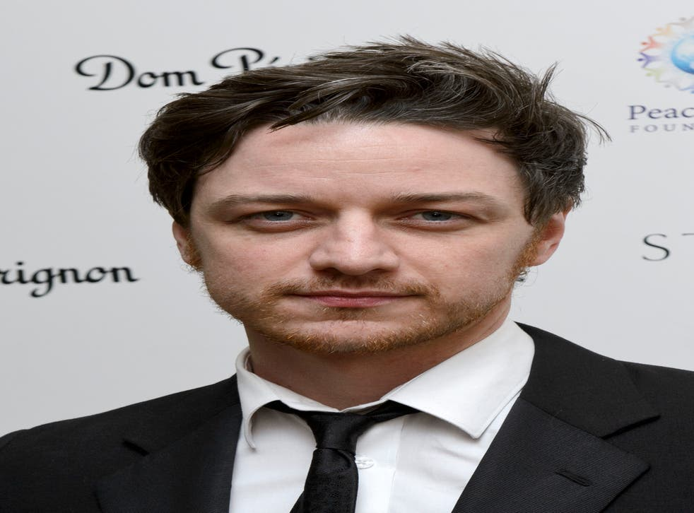James McAvoy has dropped out of Wikileaks film after work commitments conflicted