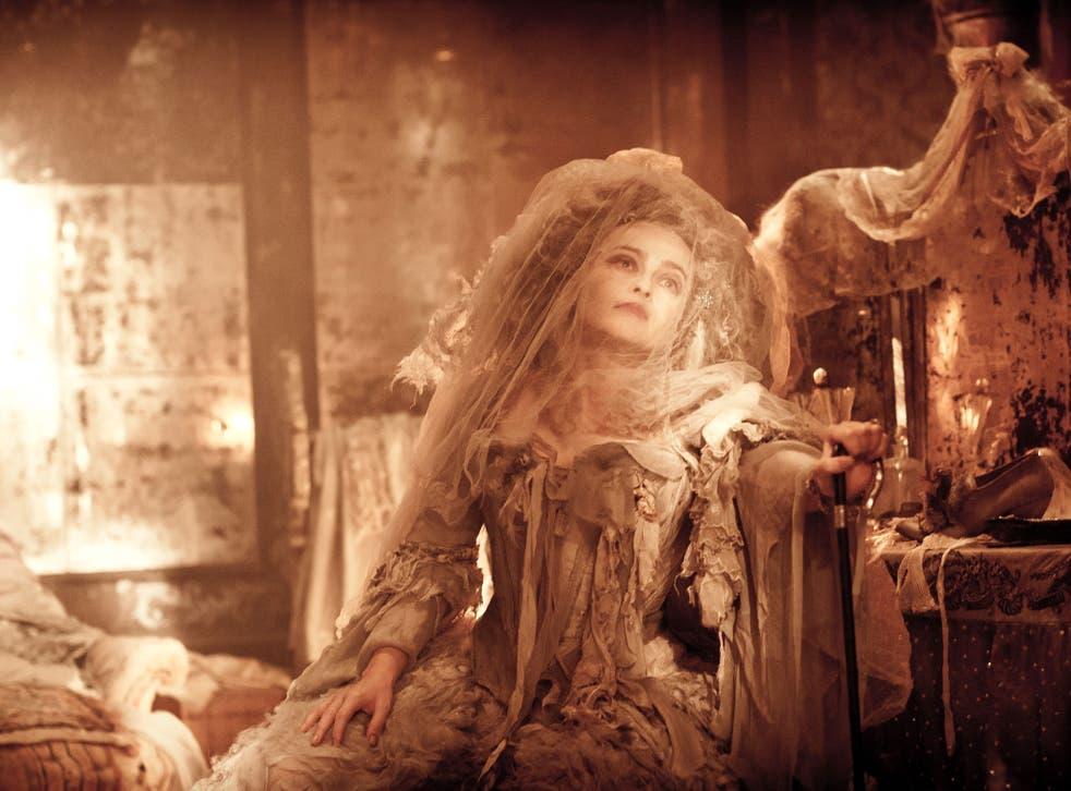 Expectations met: Helena Bonham Carter as Miss Havisham