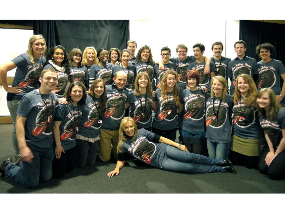 Honky tonk woman: the Voce Chamber Choir with the writer