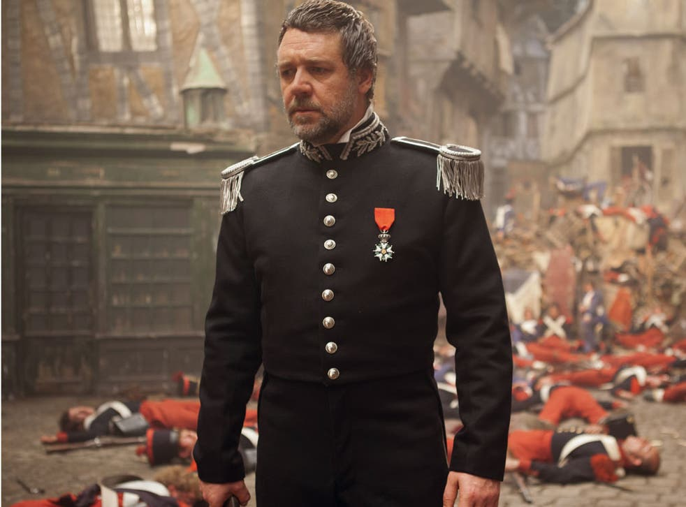 Russell Crowe in 'Les Miserables'. Running time: 160 minutes