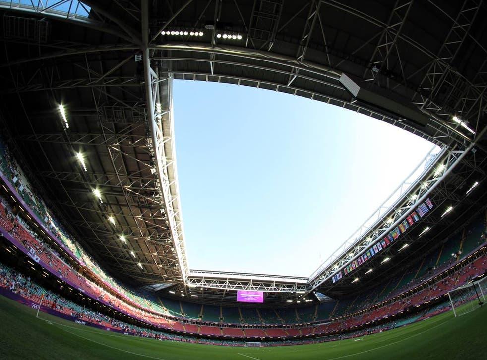 A view of the Millennium Stadium