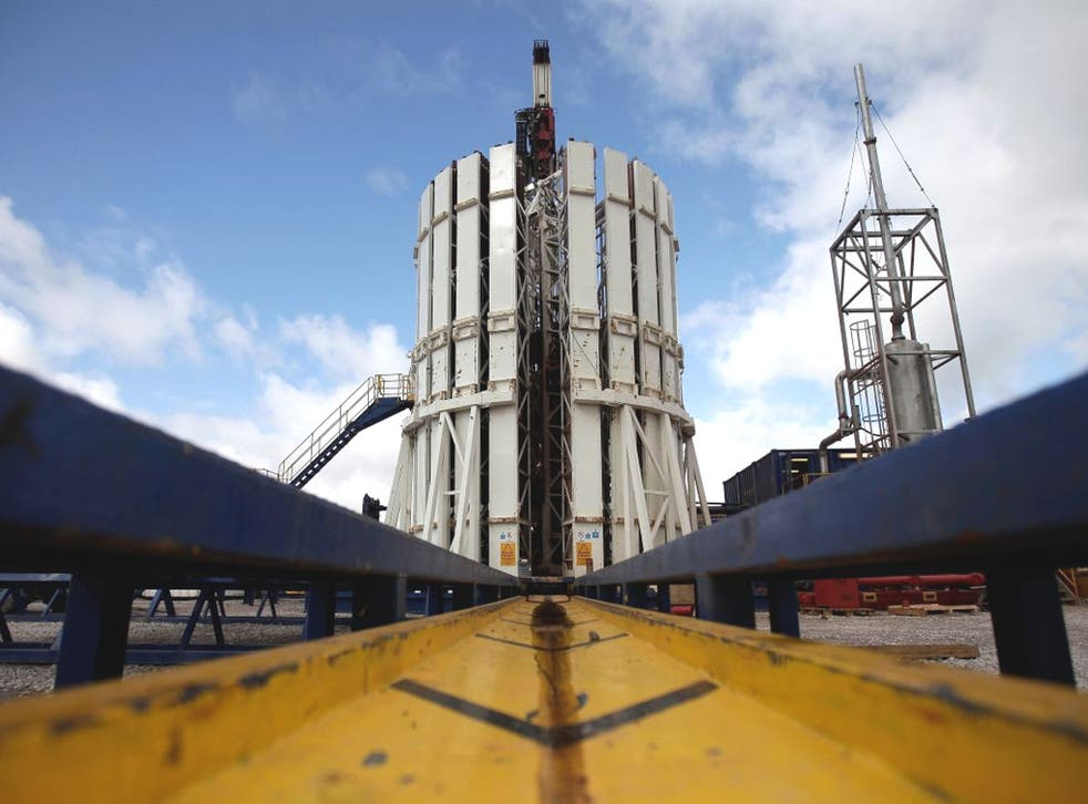 Fracking has been suspended since May last year