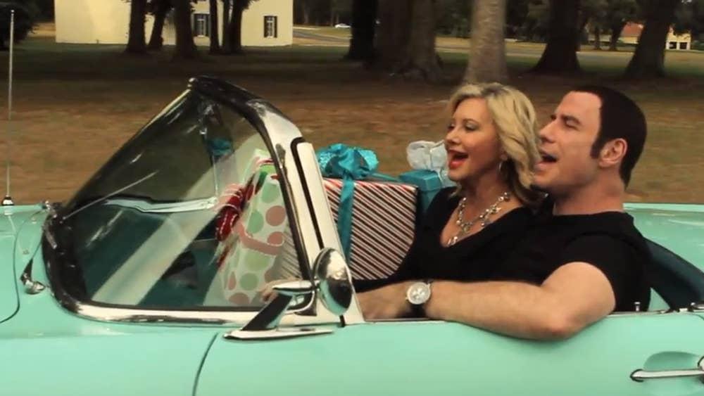 Must Watch: John Travolta and Olivia Newton-John\'s creepy Christmas ...
