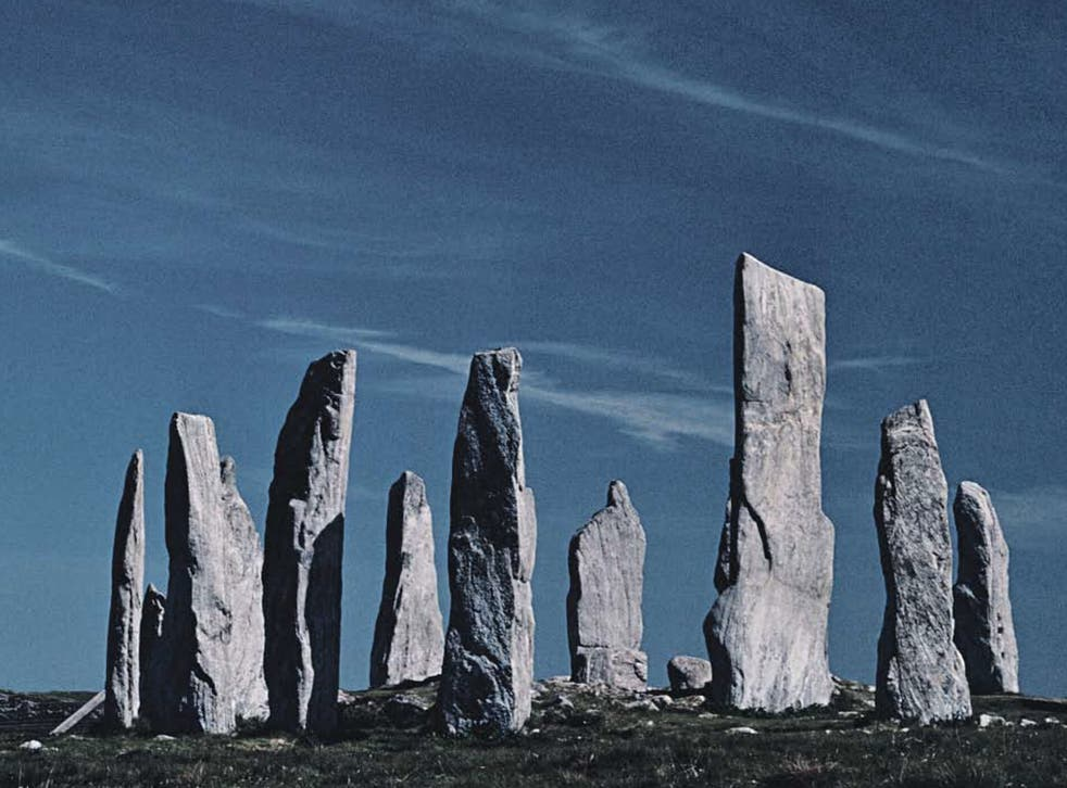 Impressive: Callanish Standing Stones, Isle of Lewis, the setting for Peter May's second novel