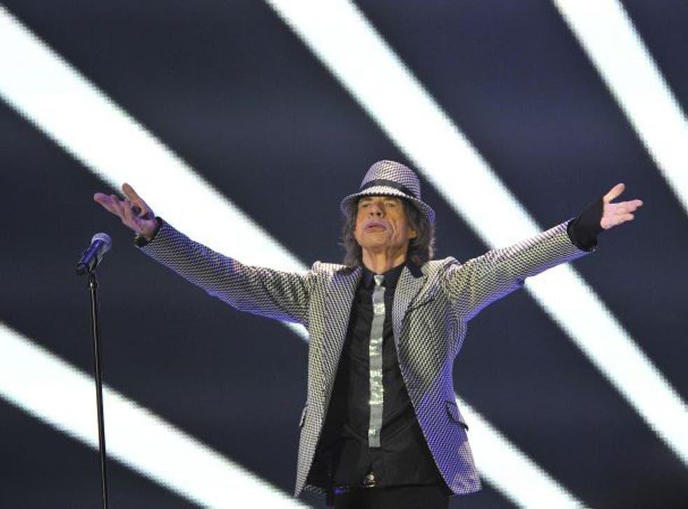 Vintage year: Mick Jagger