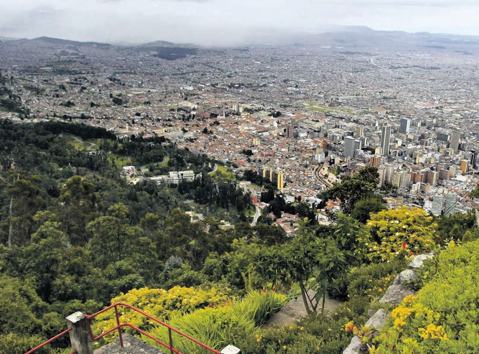 A literature of place: Bogota, Colombia