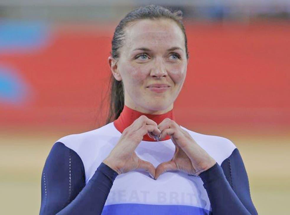 New champions: Victoria Pendleton