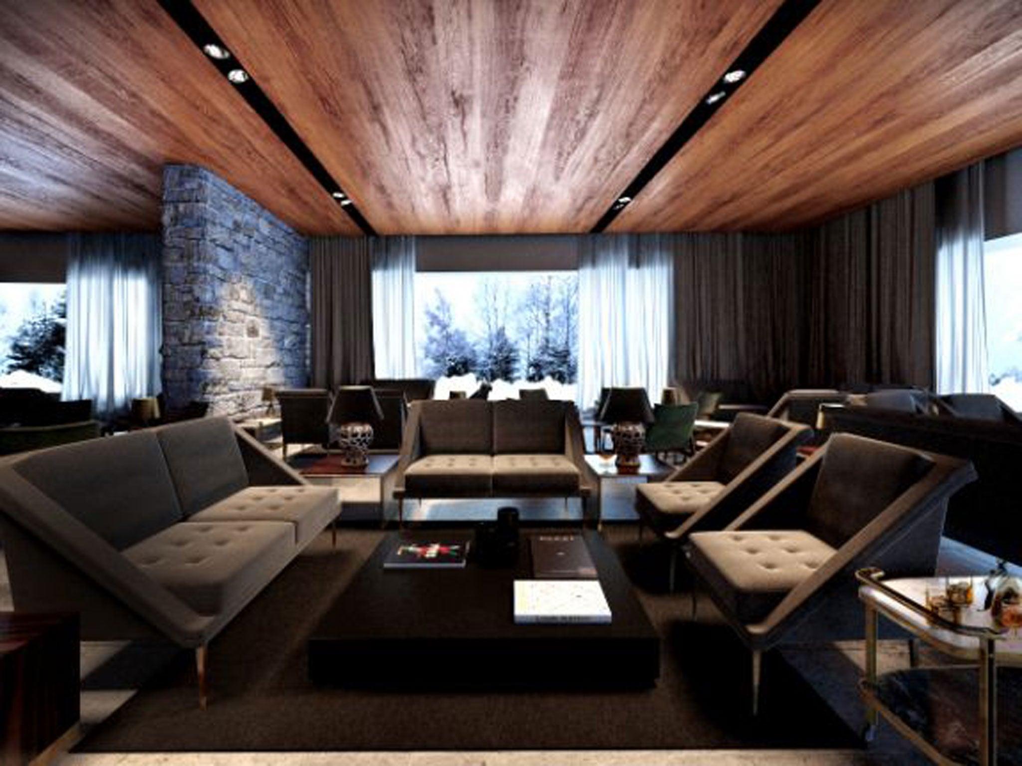 The big six modern ski hotels the independent for Moderne skihotels