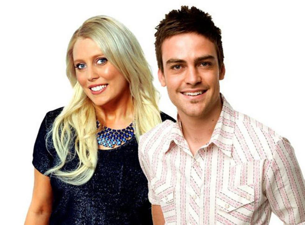 Day FM radio presenters Mel Greig and Michael Christian